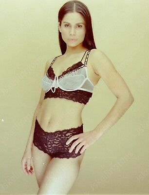 pretty brunette woman in sexy outfit vintage 2