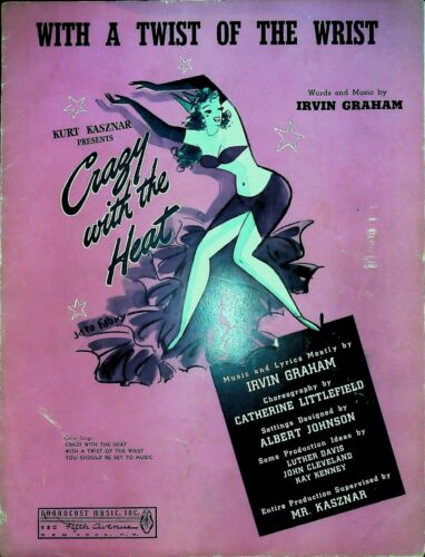 With A Twist Of The Wrist 1941 Sheet Music