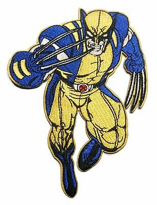X-Men Wolverine Figure Embroidered Iron on Patch for sale  Shipping to India