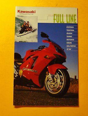 2002 KAWASAKI MOTORCYCLE & WATERCRAFT SHOWROOM SALES BROCHURE...26 PAGES
