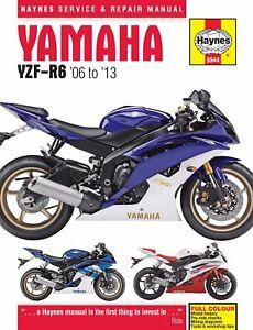 yamaha r6 manual ebay rh ebay com 2007 yamaha yzf r6s owners manual 2007 yamaha yzf r6s owners manual