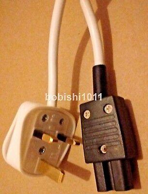 1M, GB 3 Pin De Enchufe A IEC C15 Caliente Condición Cable...