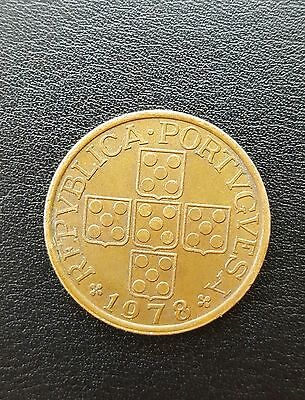 1978 - Portugal 50 Centavos Bronze Coin
