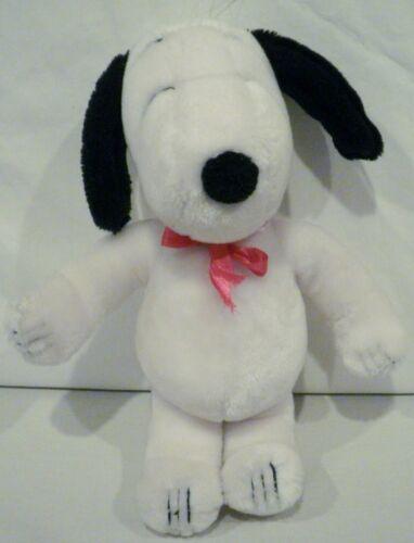 "11"" Peanuts Snoopy Plush Red Ribbon Collar"
