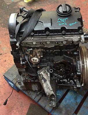 VW PASSAT B5 1.9TDI 00-05 AWX ENGINE 130 BHP BARE ENGINE. #2 na sprzedaż  Wysyłka do Poland