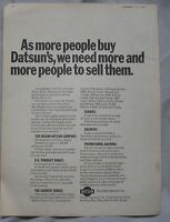 1969 Datsun Original Advert No.1 - datsun - ebay.co.uk