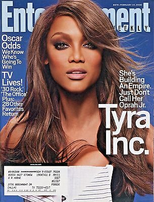 Tyra Banks Entertainment Weekly Magazine February 22  2008 2 22 08 A 1 1