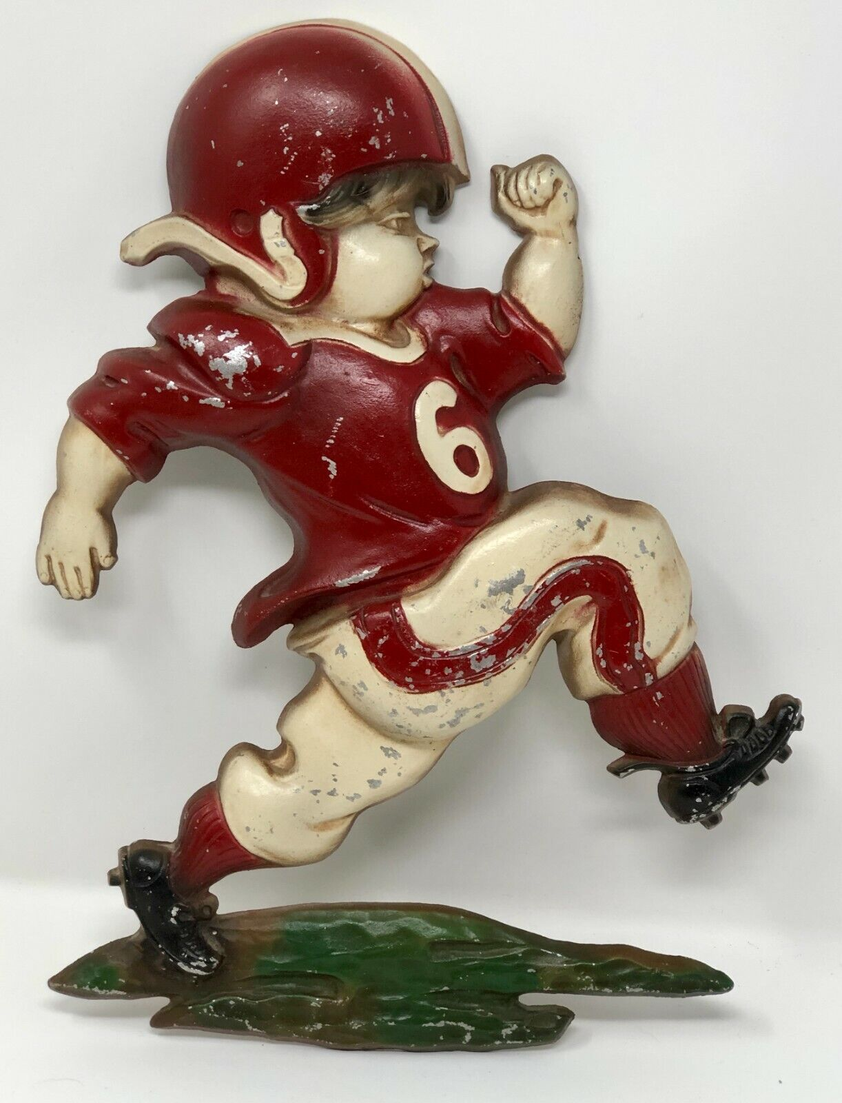 Sexton 1970 Football Player #6 Metal Plaques Sports Vintage Wall Decorations