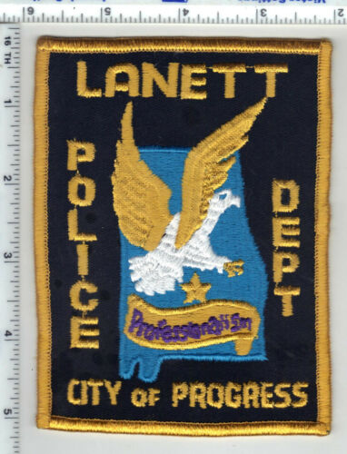 Lanett Police (Alabama) 3rd Issue Shoulder Patch
