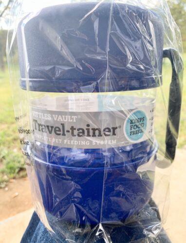 Gamma2 Vittles Vault Pet Food Travel-Tainer Kit Blue