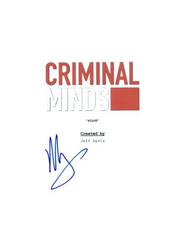 Mandy Patinkin Signed Autographed CRIMINAL MINDS Full Pilot Episode Script COA