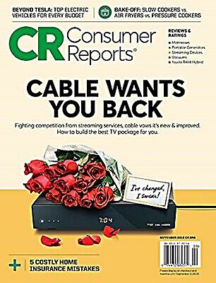 CONSUMER REPORTS MAGAZINE FeBRUARY 2020- THE BEST MATTRESS FOR YOUR