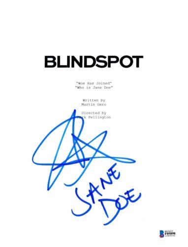 JAIMIE ALEXANDER SIGNED BLINDSPOT PILOT SCRIPT BECKETT BAS AUTOGRAPH AUTO B