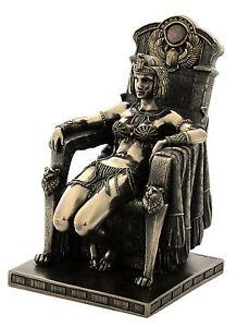 ägyptische Pharaonin Kleopatra Art Deco ägyptisch Skulptur Statue 708-5502