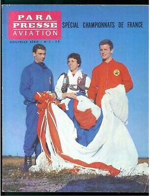 PARA PRESSE AVIATION REVUE DES PARACHUTISTES FRANCAIS N. 2 1963 NOUVELLE SERIE