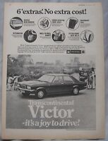 1973 Vauxhall Victor Original Advert No.1 - opel/vauxhall - ebay.co.uk