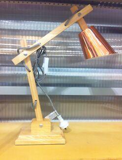New copper & wooden desk/ table lamp. ON TREND boutique! Stockton Newcastle Area Preview