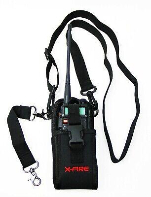 X-fire Radio Strap Firefighter Ems Emt Shoulder Holder Duty Holster Belt Combo