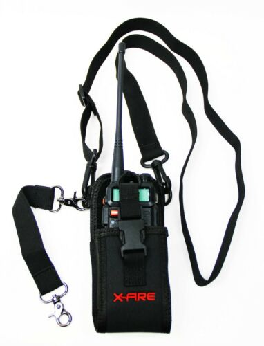 X-FIRE Radio Strap Firefighter EMS EMT Shoulder Holder Duty Holster Belt Combo