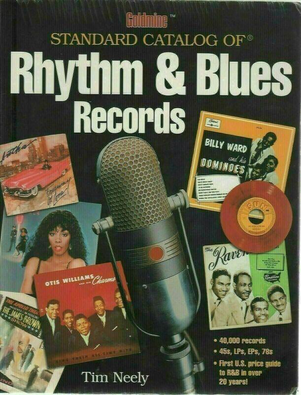 2002 Goldmine Rhythm & Blues Records Standard Catalog Softcover Book