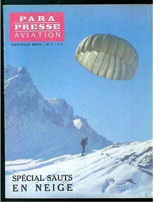PARA PRESSE AVIATION REVUE DES PARACHUTISTES FRANCAIS N. 5 1964 NOUVELLE SERIE