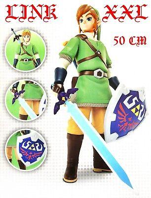 The Legend of Zelda 50cm Zelda Figur - XXL Link mit Masterschwert Nintendo NEU! ()