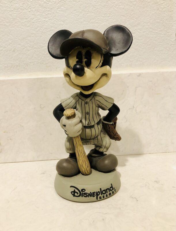 """Disneyland Resort - MICKEY MOUSE Baseball Bobblehead - 8"""", No Box, Collectors"""