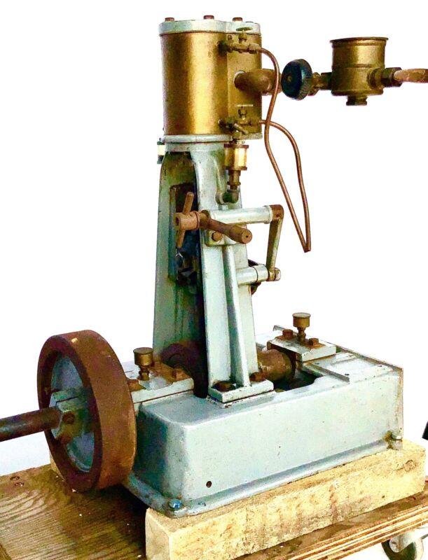 A FINE CA 1900 3~4 HP VERTICAL REVERSING SHIPMAN  STEAM ENGINE
