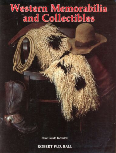 Old West Collectibles Saddles Chaps Spurs Hats Etc / Former Library Book +Values