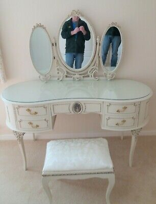 Olympus Bedroom Suite French Louis X2 Wardrobes X2 Bedsides & Dressing Table