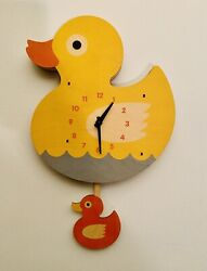 Modern Moose Duck pendulum wall Clock