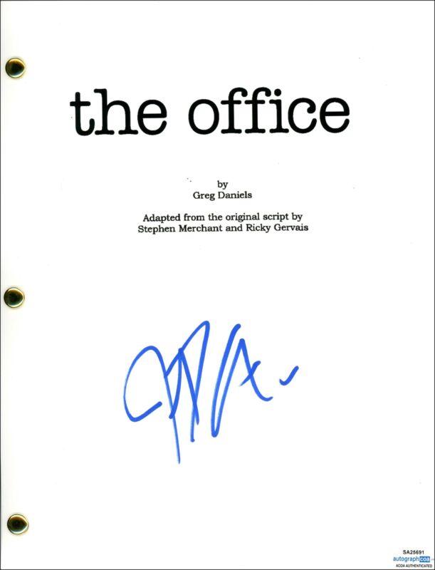 """John Krasinski """"The Office"""" AUTOGRAPH Signed Full Pilot Episode Script ACOA"""