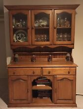 Solid Pine Buffet & Hutch Glenmore Park Penrith Area Preview
