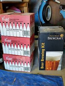 Beer making kit + 45 bottles Adamstown Newcastle Area Preview