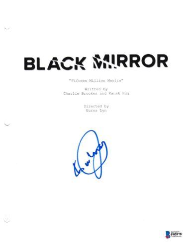 DANIEL KALUUYA SIGNED BLACK MIRROR PILOT SCRIPT BECKETT BAS AUTOGRAPH AUTO