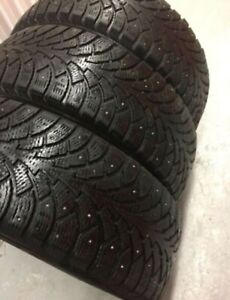 x3 Nordic Nordman-4 Studded Winter Tires 215/60/16