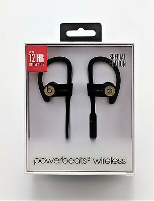 Dr  Dre Beats Powerbeats3 Wireless Headphones Special Edition Gold Used In Box
