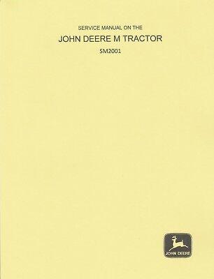 John Deere M Full Shop Service Manual Sm2001
