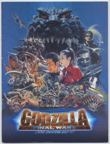 Godzilla: Final Wars JAPAN PROGRAM Ryuhei Kitamura, Masahiro Matsuoka, Don Frye