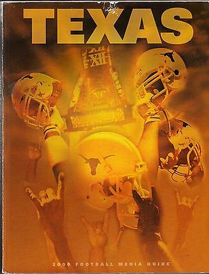 2000 Texas Longhorns Football Media Guide  Kyle Shanahan  Tom Herman   Big 12