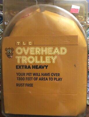 Pet Overhead Trolley Run Cable  50 Feet Length 1300 Area NIP ()