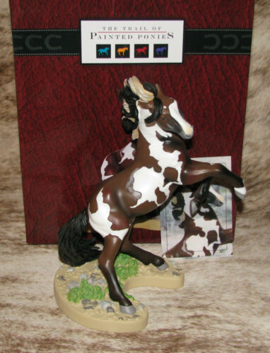 """TRAIL OF PAINTED PONIES Dance of the Mustang~Low 1E/1933~Pinto Named """"Picasso"""""""