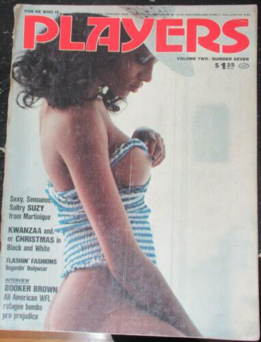 PLAYERS VOLUME 2 # 7 VINTAGE AFRICAN AMERICAN COLLECTABLE MAGAZINE