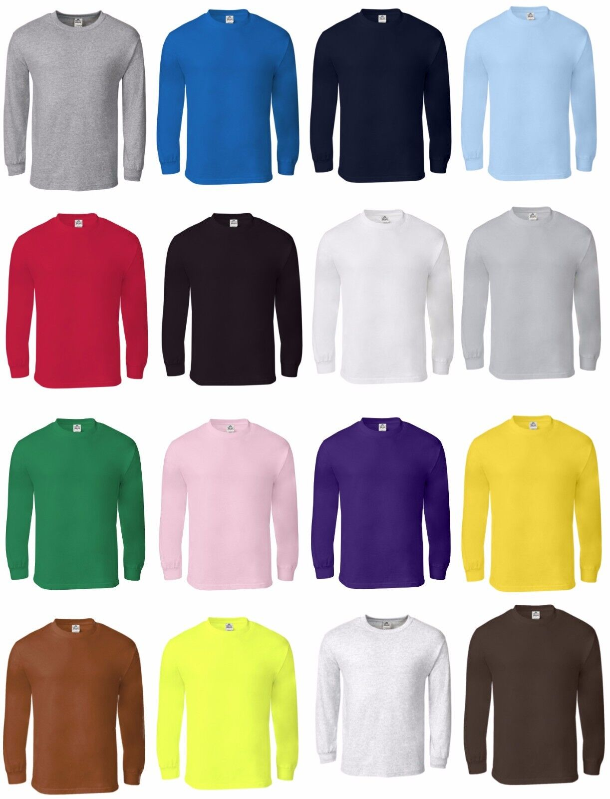 new men s cotton long sleeve t