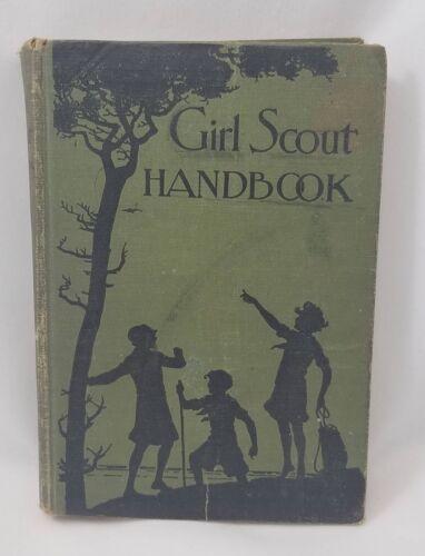 Girl Scout Handbook 1932 Hardback Vintage Camping