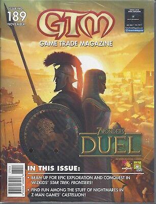 GTM #189 New  Game Trade Magazine  7 Wonders Duel Secret Santa Promo
