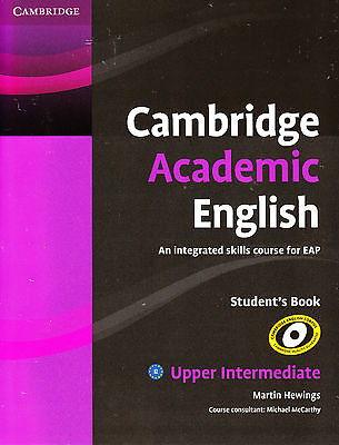 CAMBRIDGE ACADEMIC ENGLISH B2 Upper-Intermediate Student's Book / EAP @NEW@