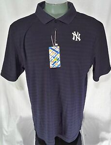 Men's NY New York Yankees Vintage Patch EV Run DriFit Polo Shirt: XL New w/S