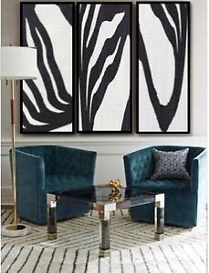 Extra Large Painting Modern Abstract Art 3 Large Paintings