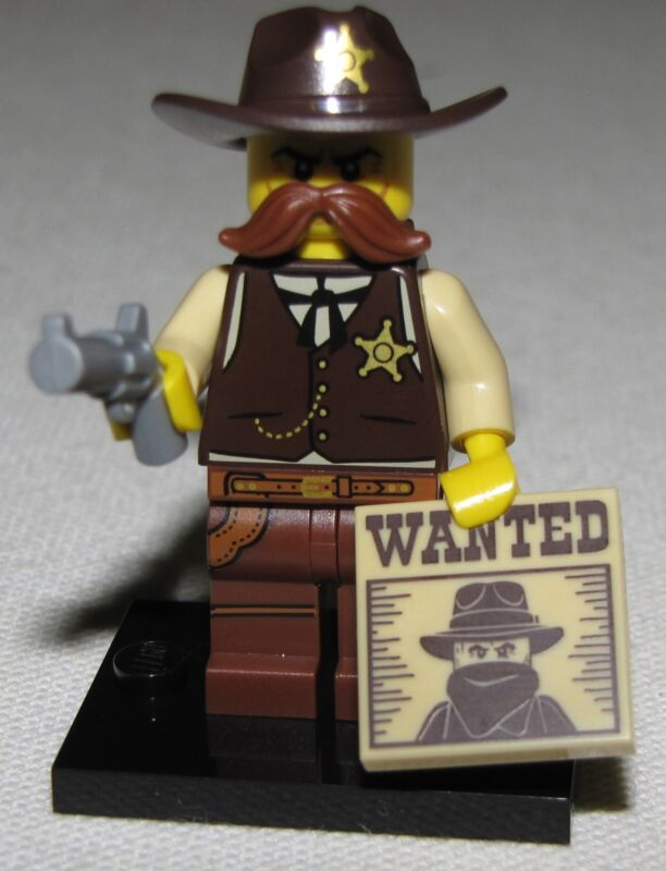 LEGO NEW SERIES 13 71008 MINIFIGURES ALL 16 AVAILABLE YOU PICK YOUR FIGURES  Sheriff Wild West
